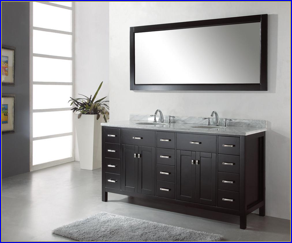 72 Inch Bathroom Vanity One Sink