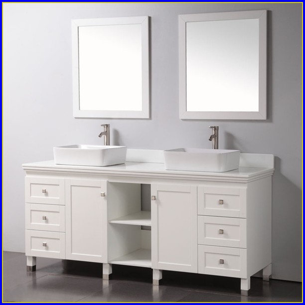 72 Inch Bathroom Vanity White