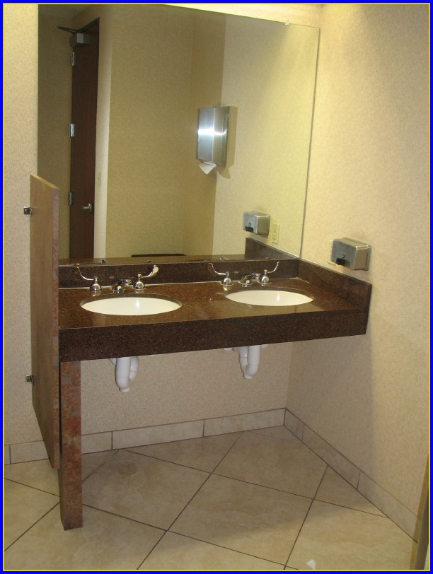 Ada Bathroom Sink And Countertop