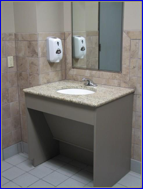 Ada Bathroom Sink Mounting Height