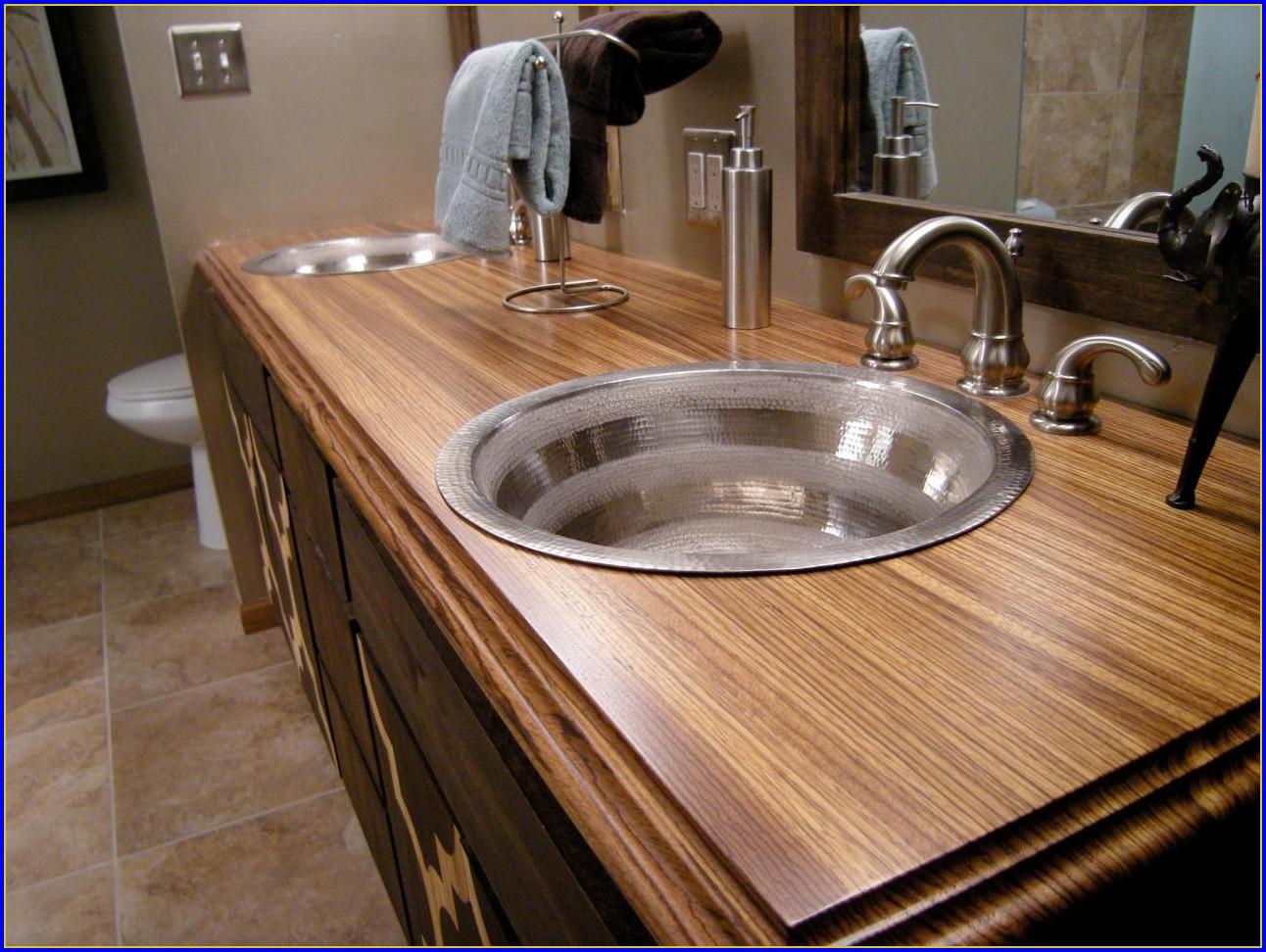 Bathroom Countertop Material Types