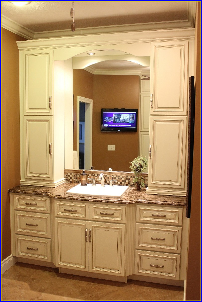 Bathroom Linen Cabinets Wall Mount
