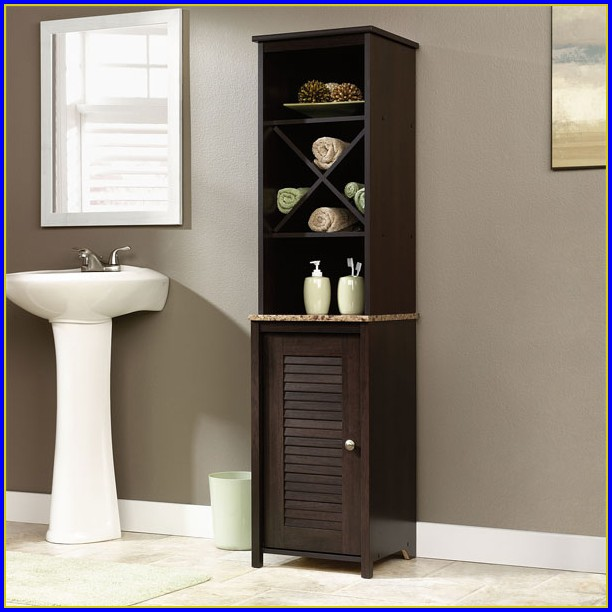 Bathroom Linen Tower Cabinet