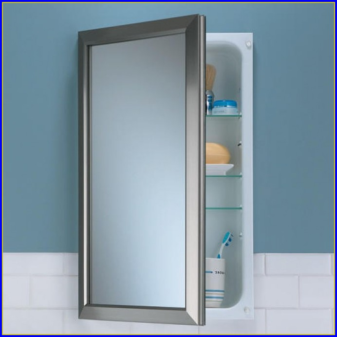 Bathroom Medicine Cabinets Recessed Mirrors