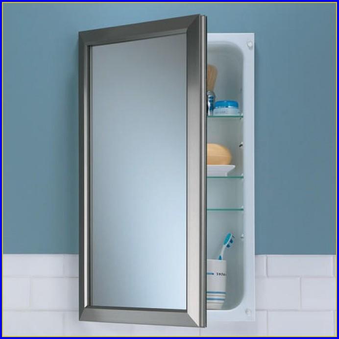 Bathroom Medicine Cabinets Recessed Mirrors