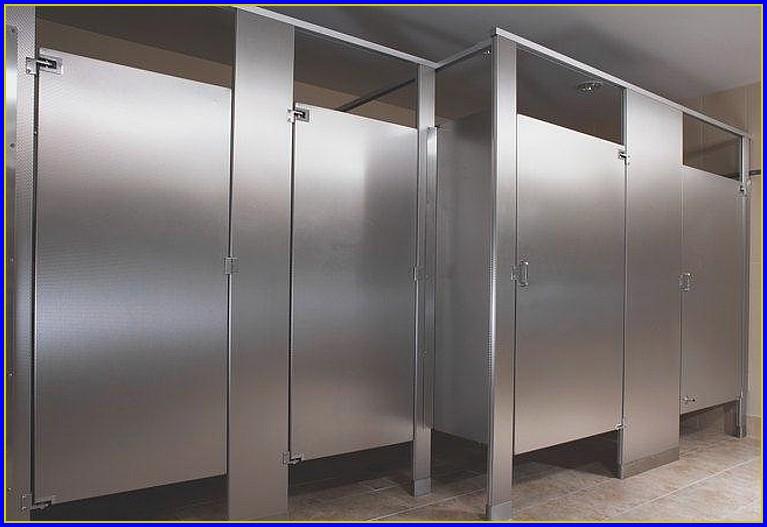 Bathroom Stall Doors Wood