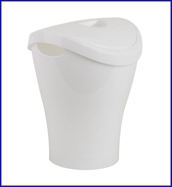 Bathroom Trash Can With Lid Amazon