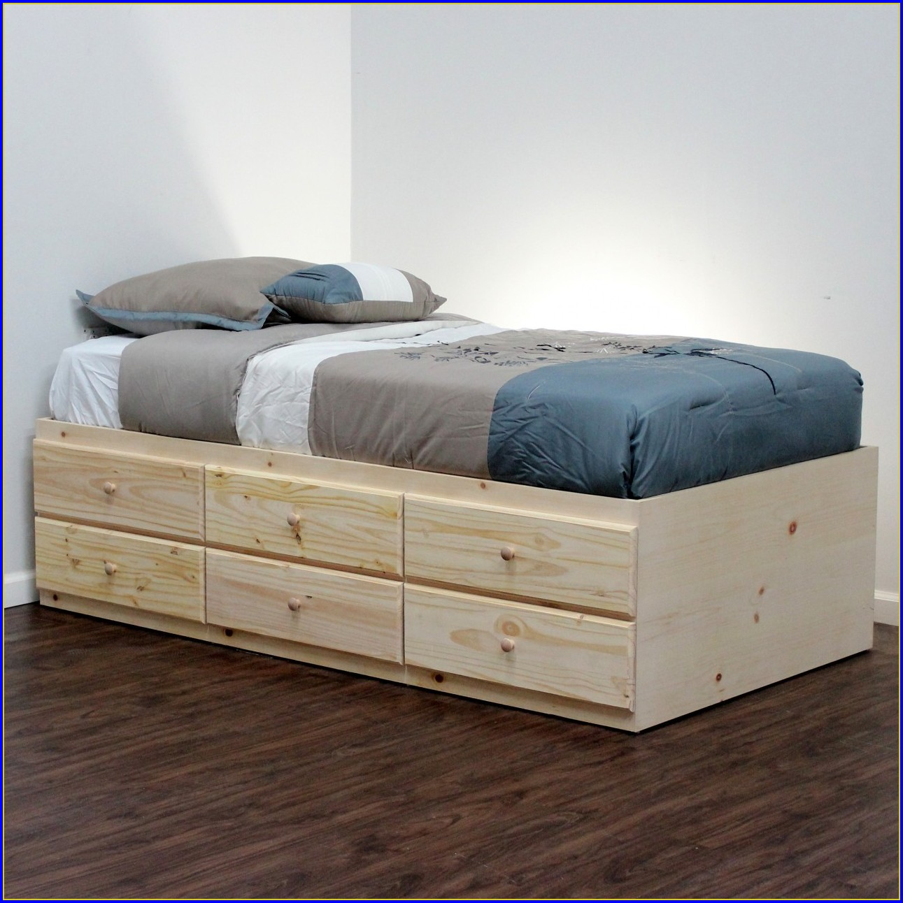 Bed Frame With Drawers On One Side