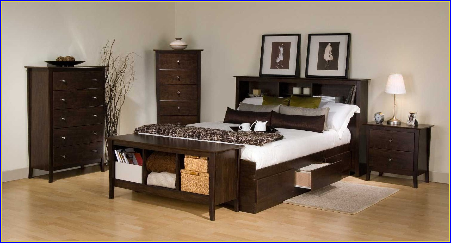 Bed Frame With Drawers Under