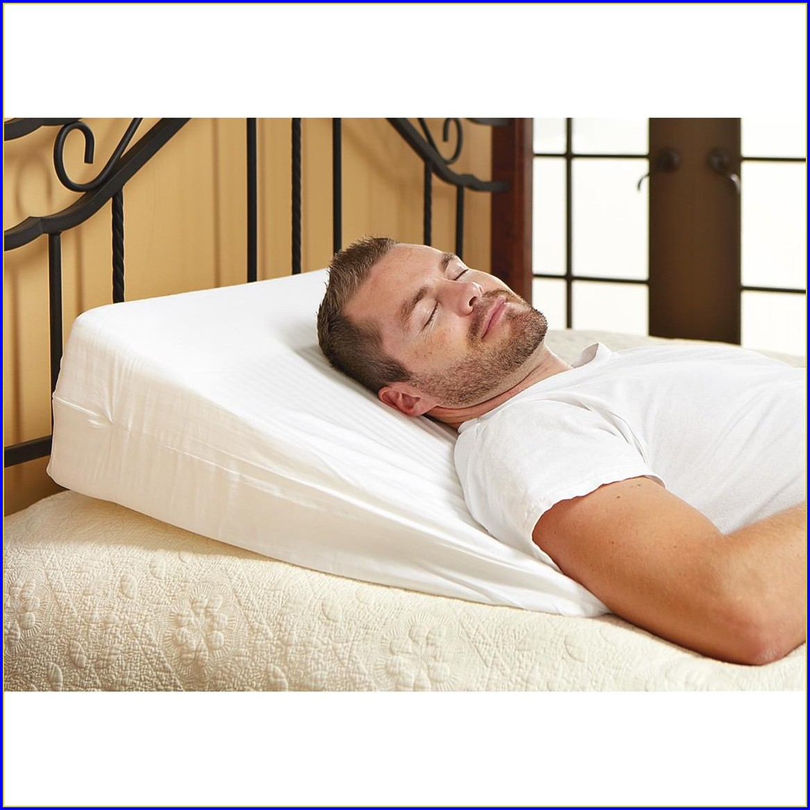 Bed Wedge Pillow Cover