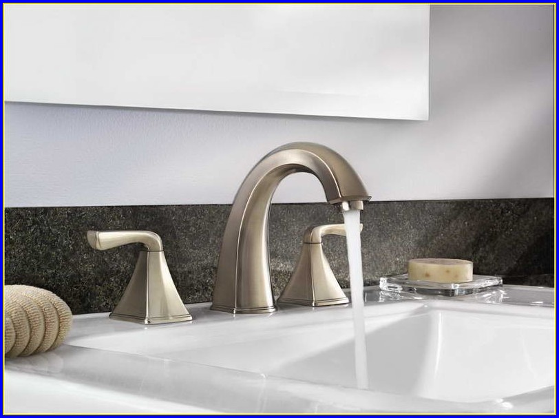 Brushed Nickel Bathroom Faucets Cleaning