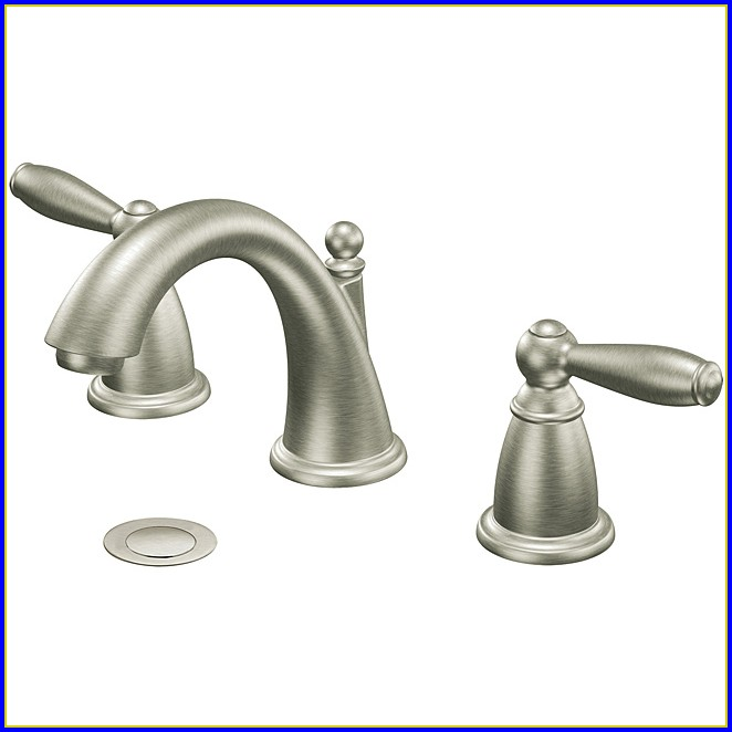 Brushed Nickel Bathroom Faucets Delta
