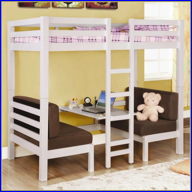 Bunk Bed With Desk Underneath Canada