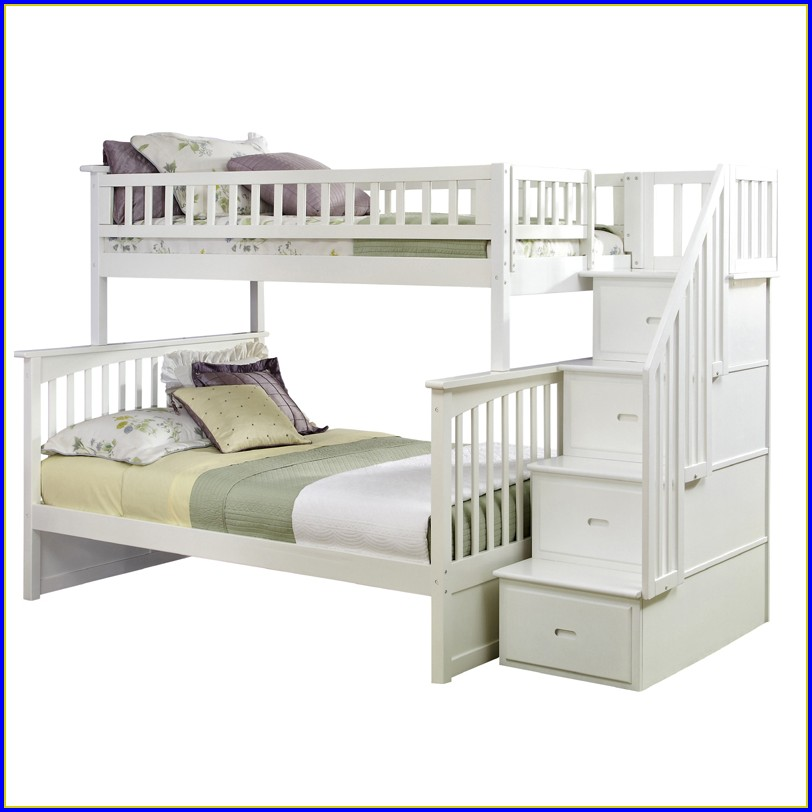 Bunk Bed With Stairs And Drawers