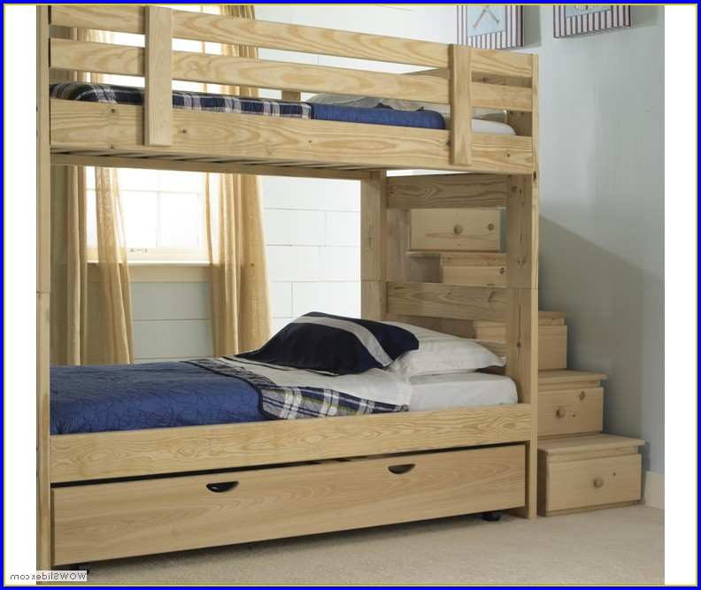 Bunk Bed With Stairs And Slide