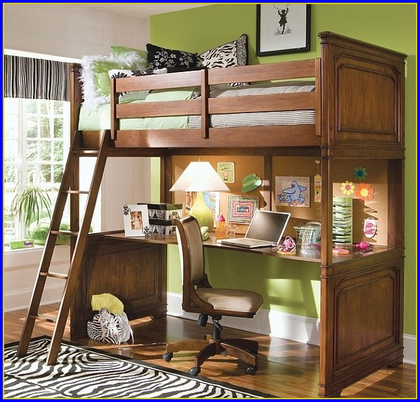 Bunk Beds With Desk And Trundle