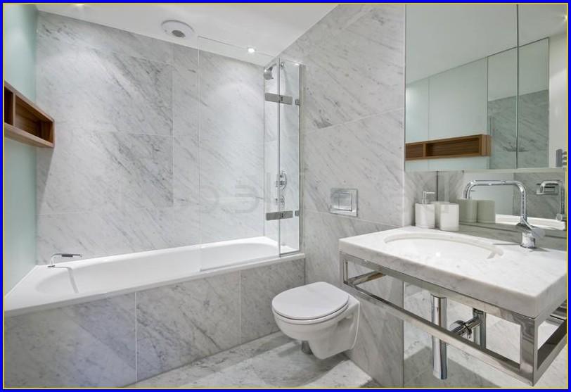 Carrara Marble Bathroom Shower
