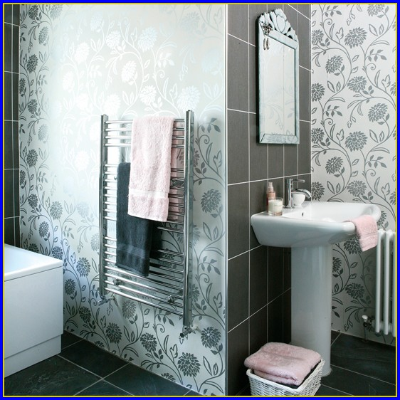 Country Wallpaper Borders For Bathrooms