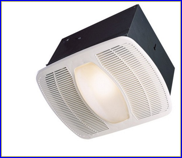 Ductless Bathroom Fan Light Combo