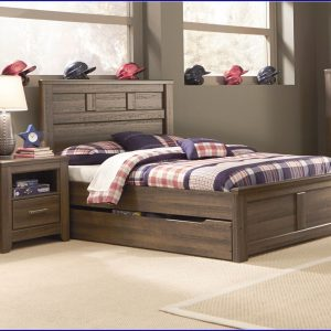 Full Size Bed With Trundle Bedroom Set