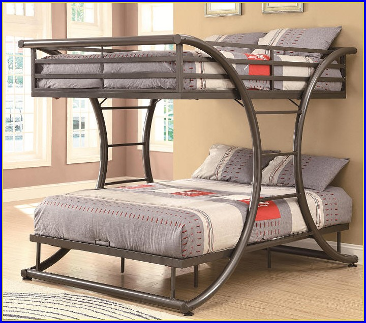 Full Size Bunk Beds With Desk