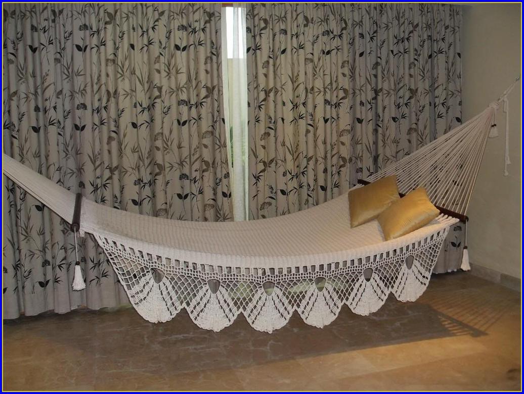 Indoor Hammock Bed With Stand