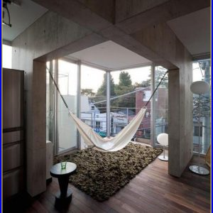 Indoor Hammock Bedroom