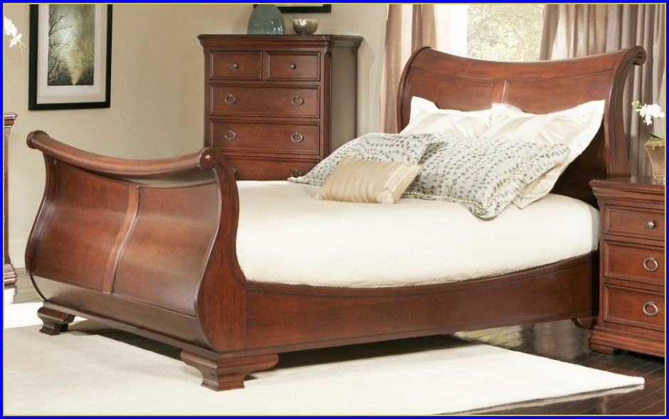 King Sleigh Bed Dimensions