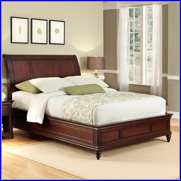 King Sleigh Bed Frame