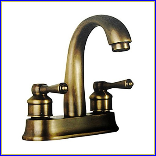 Moen Polished Brass Bathroom Faucets