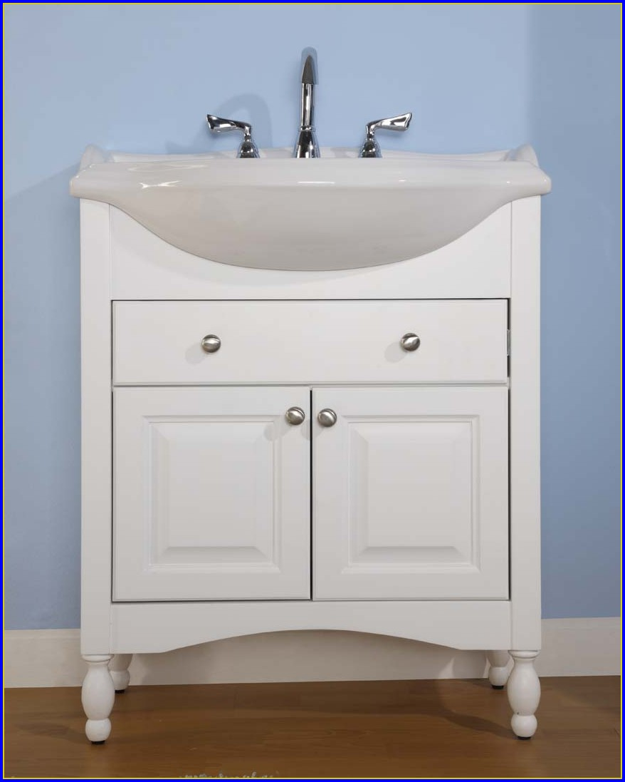 Narrow Depth Bathroom Vanities Canada