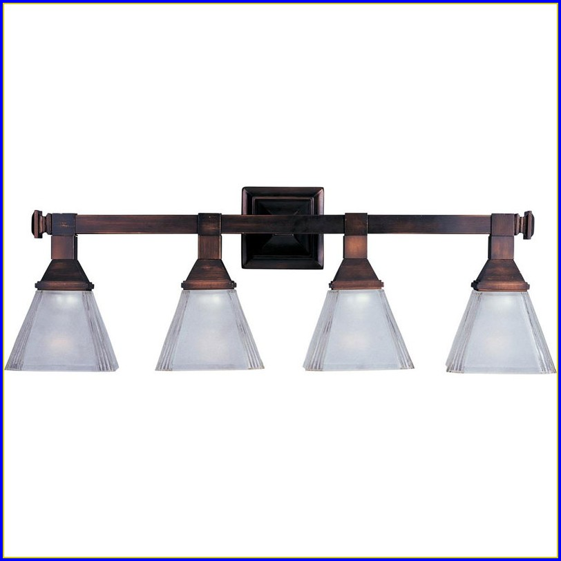 Oil Rubbed Bronze Bathroom Sconce Lighting