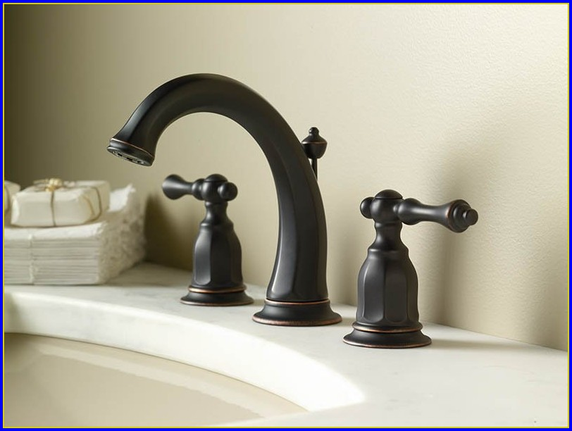 Oil Rubbed Bronze Bathtub Faucets