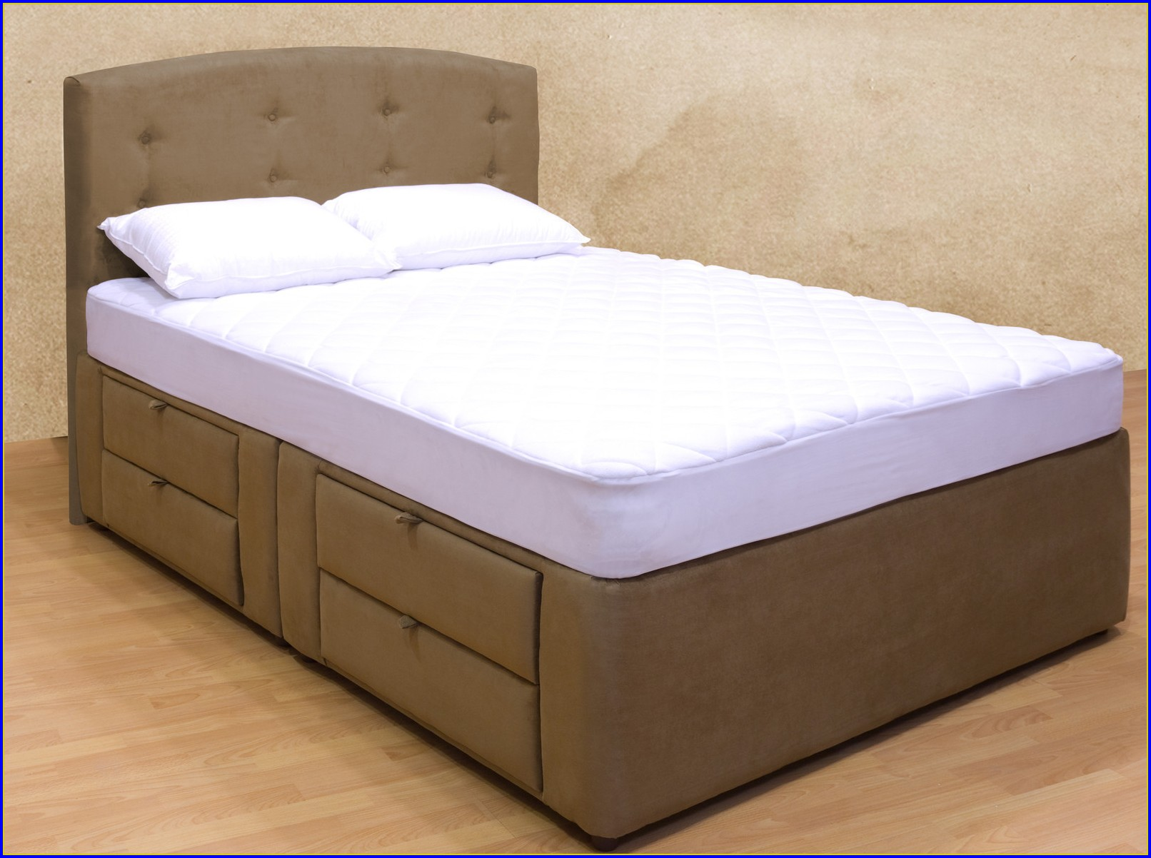 Platform Bed With Drawers Queen