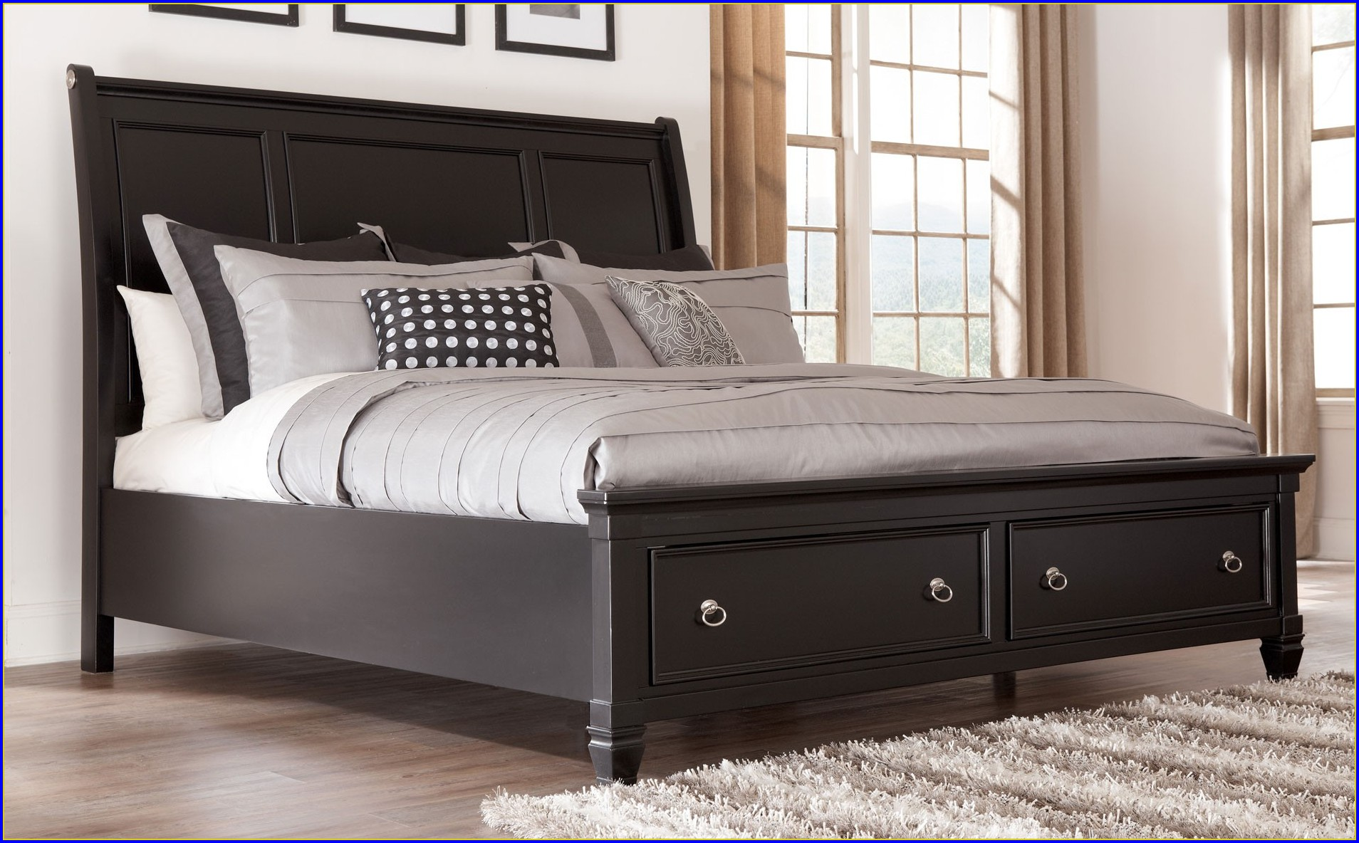Queen Sleigh Bed Dimensions