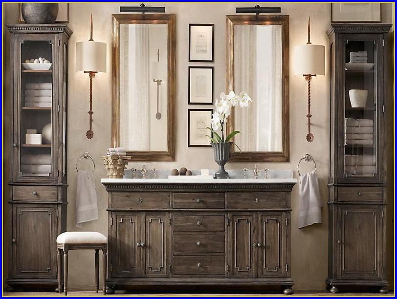 Restoration Hardware Bathroom Vanity Cabinets