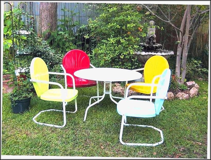 Retro Patio Furniture Sets