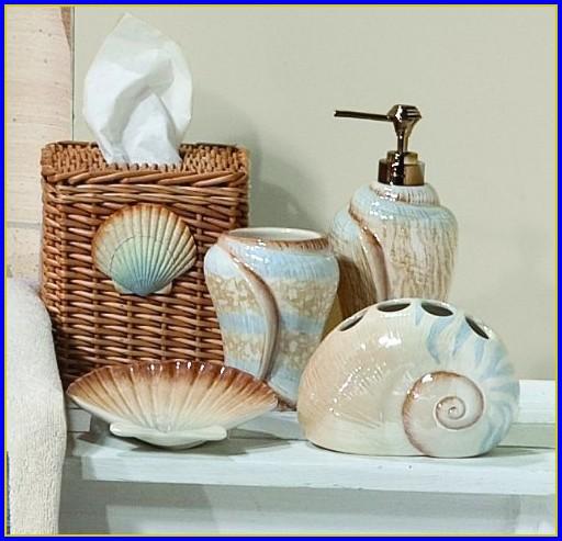 Seashell Bathroom Wall Decor