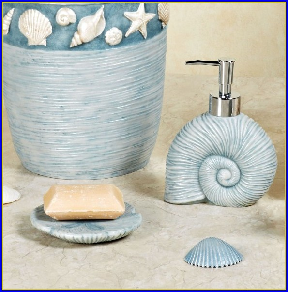 Seashell Decorative Bath Towels