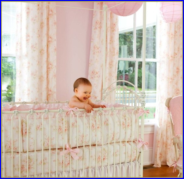 Shabby Chic Bedding For Baby Girl