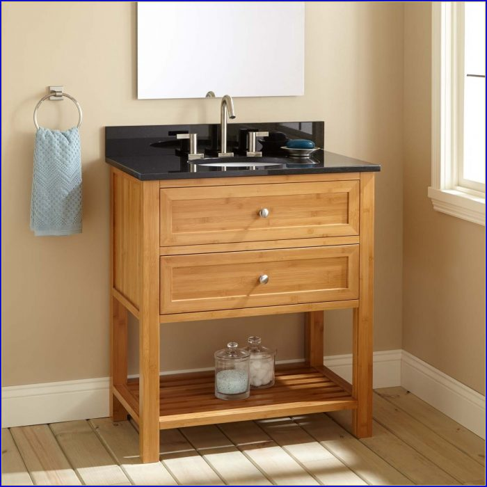 Shallow Depth Bathroom Sink Vanity