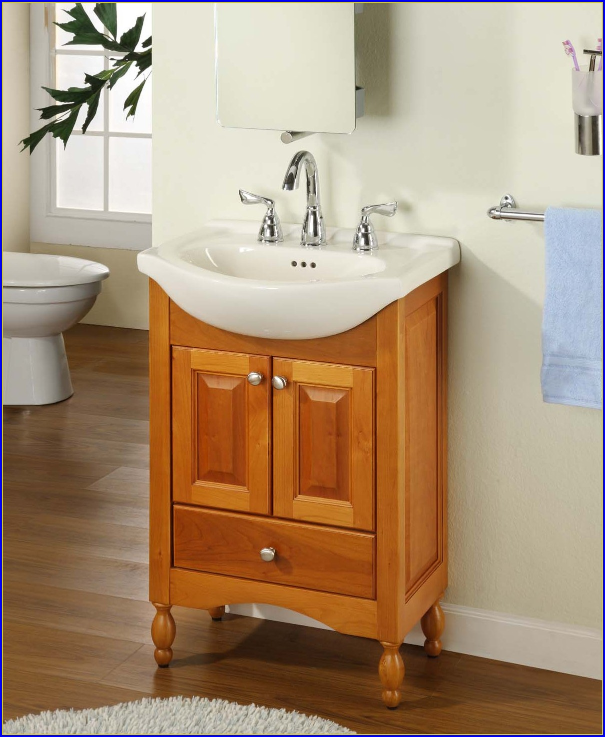 Small Shallow Bathroom Vanity