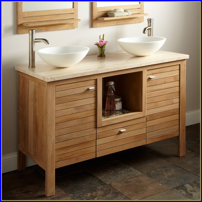 Teak Bathroom Vanity Top