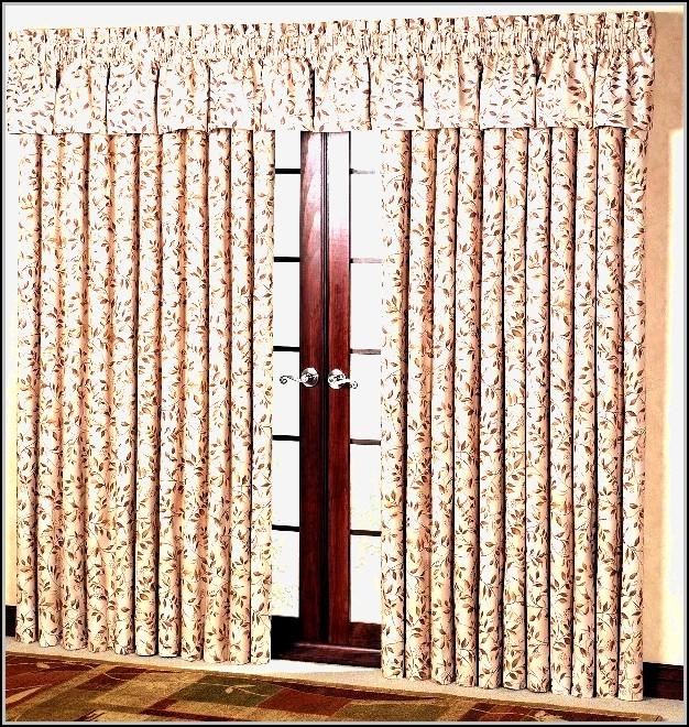 Thermal Patio Door Curtains