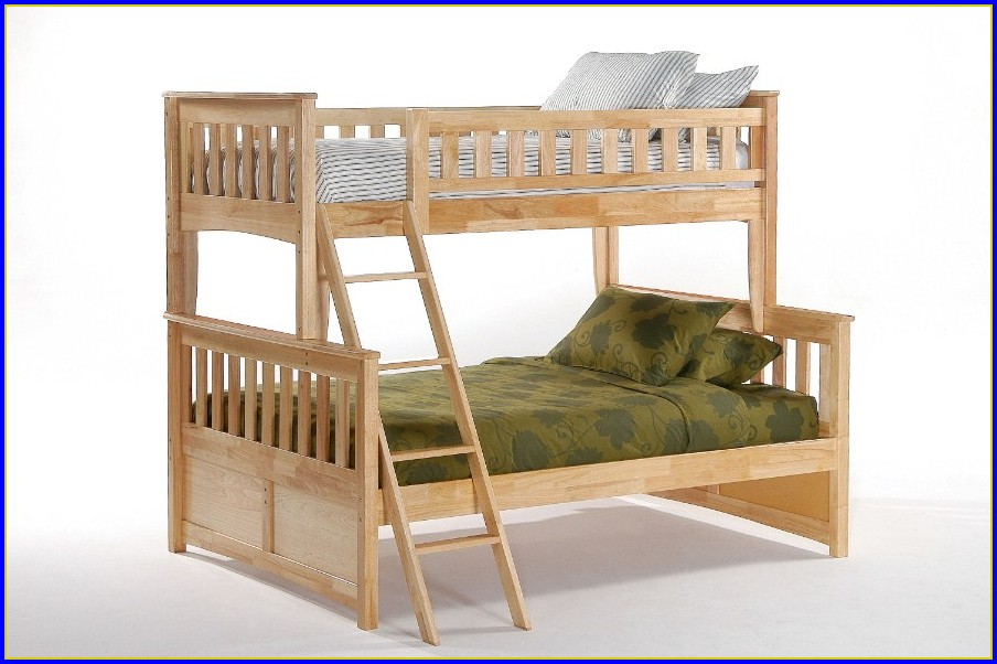 Twin Full Bunk Beds With Stairs