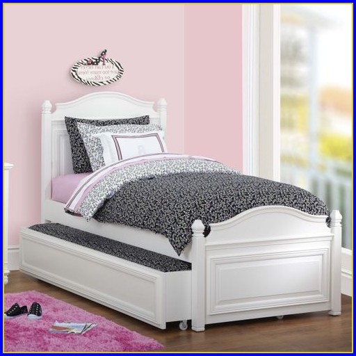Twin Trundle Bed With Drawers