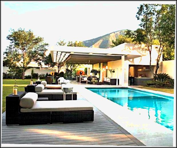 Ultra Modern Pool And Patio