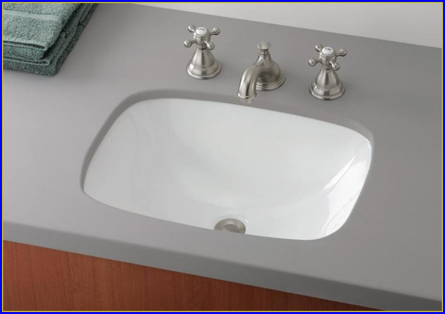 Undermount Bathroom Sink Countertop