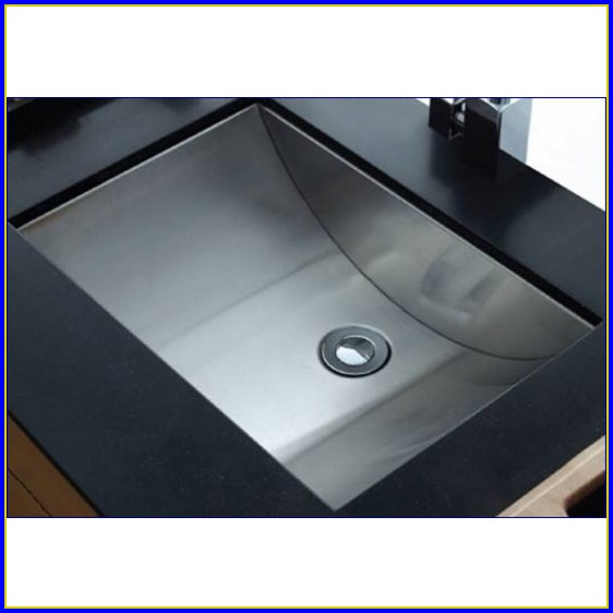 Undermount Bathroom Sink Rectangular