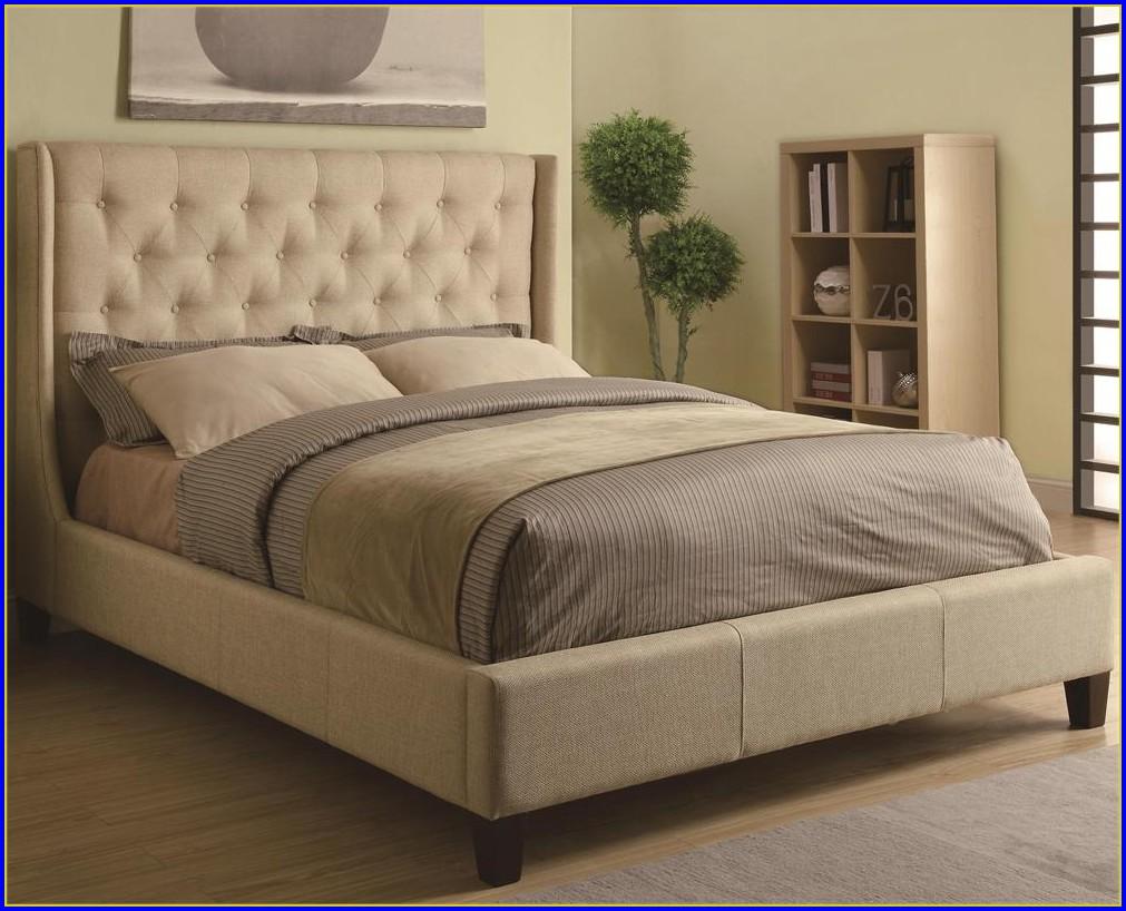Upholstered Bed Frame Queen